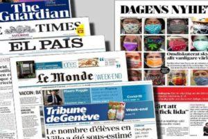 Avrupa'dan Günün Gazete Başlıkları