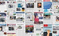 Günün Avrupa Gazete Manşetleri