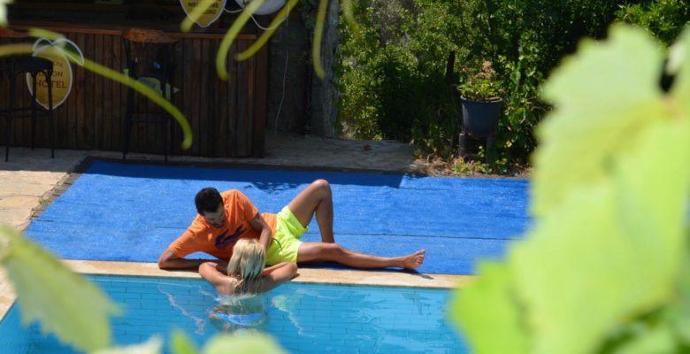 Akduman Çiftinin Romantik Tatil Anları