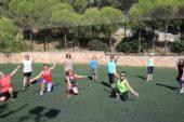 Karabağlar'da sosyal mesafeyle spora devam!