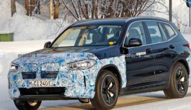 Yeni BMW iX3 Online Dünya Lansmanı ile Tanıtılacak