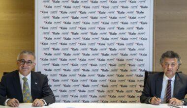 İki küresel marka Kaleseramik ve Hüppe arasında imzalar atıldı