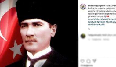 Mahmut Görgen'den 29 Ekim'e Özel Atatürk Projesi