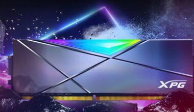 XPG'den 5000MHz Hızında DDR4 RGB Bellek SPECTRIX D50 Xtreme