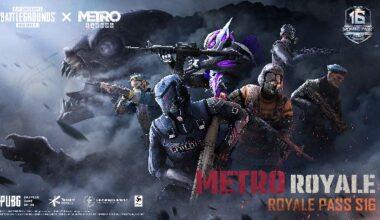 PUBG Mobile Royale Pass Sezon 16, Metro Exodus iş birliğiyle geliyor!