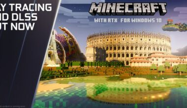 DLSS Listesine 4 Yeni Oyun, Minecraft'a Resmi RTX Desteği Geldi ve Cyberpunk 2077 Kapıda