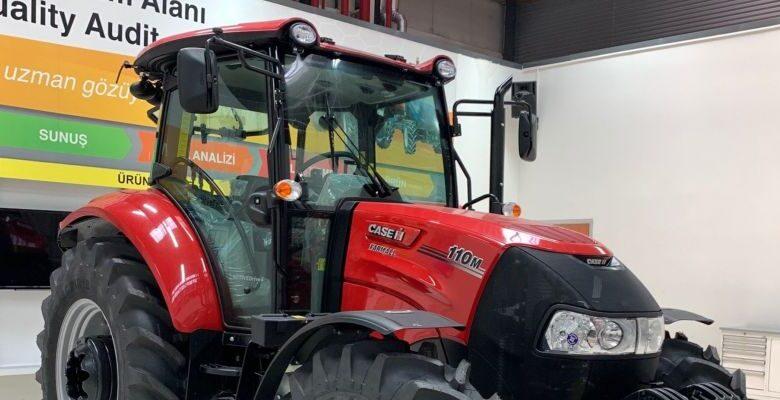 Türkiye'nin 'Yerli yarı otomatik şanzımanlı' CASE IH Traktörleri şimdi de dünya pazarlarında